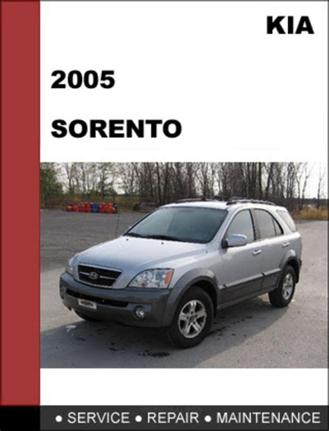 free online auto service manuals 2009 kia sorento engine control kia sorento 2005 oem service repair manual download download manu