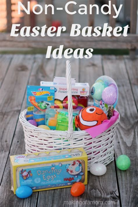 easter 2017 ideas non candy easter basket ideas making of a mom