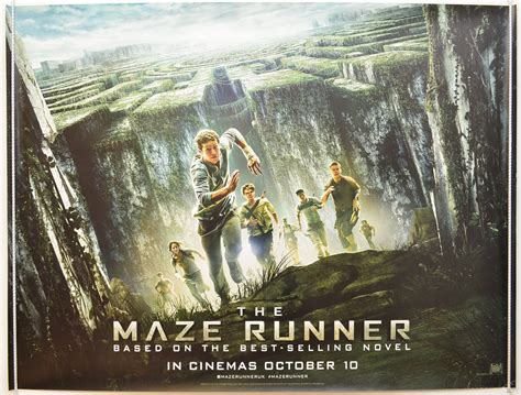 maze runner film poster maze runner the original cinema movie poster from