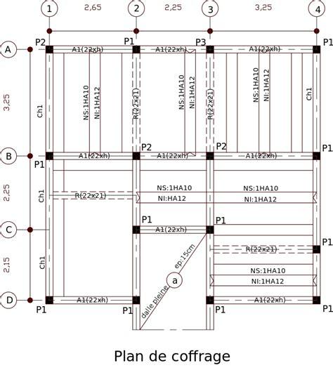 Comment Construire Un Escalier En Béton 3795 by Fichier Plan De Coffrage Svg Wikip 233 Dia