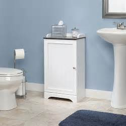 bathroom floor storage cabinets sauder caraway floor cabinet soft white walmart