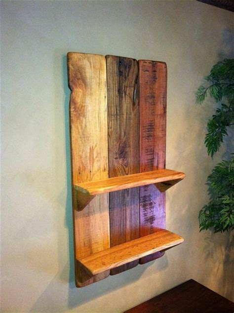 Diy Wall Shelf by Diy Pallet Wall Hanging Picture Shelf 99 Pallets