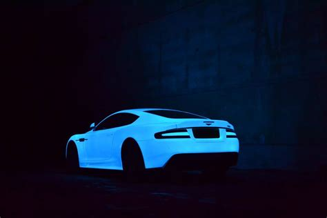 glow in the car paint uk aston martin dbs quot glow in the quot edition is ready for