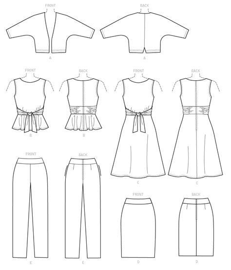 pattern drafting dolman sleeve butterick 6463 misses dolman sleeve jacket attached sash