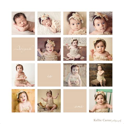 baby s year collage templates collage of baby s year