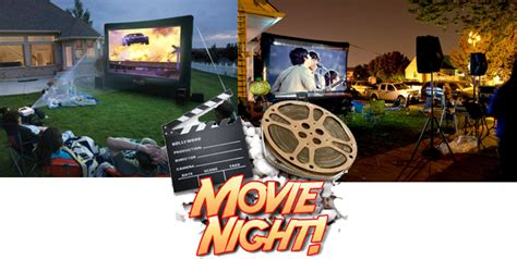 backyard movie projector rental summertime rent a outdoor movie projector and sound