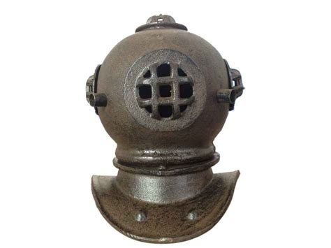 Cast Iron Decor by Buy Rustic Cast Iron Decorative Divers Helmet 9 Inch