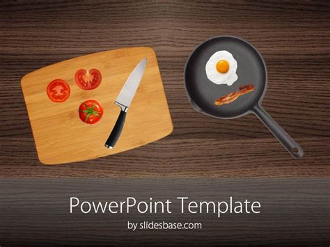 Kitchen Table Powerpoint Table Slidesbase Culinary Powerpoint Templates