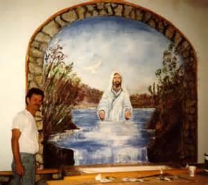 murals backdrops by folk artist doncochran church wall murals for pinterest