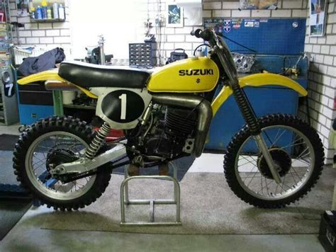 works motocross bikes late 70s suzuki works bike motocross 70 s bikes