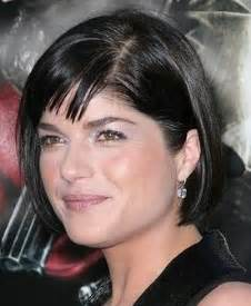 good haircuts with women with wrinkles in foreheads selma blair black short hairstyle hairstyles fashion blog
