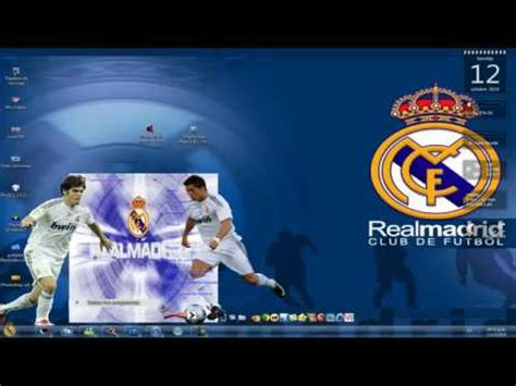 themes mozilla firefox real madrid theme real madrid para windows 7 by modahmed1 channel ريال