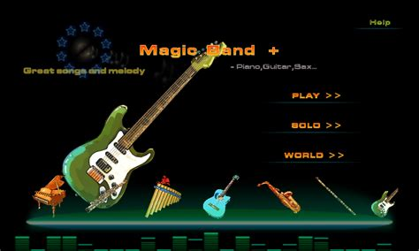 sax apk magic band piano guitar sax appstore for android