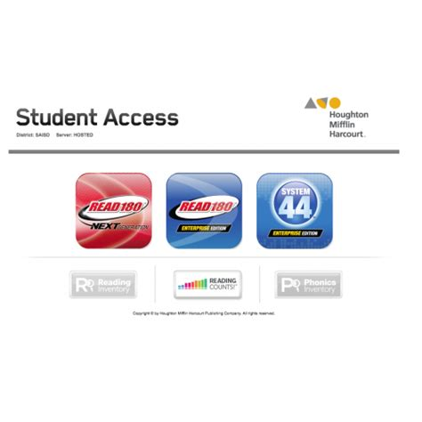 saisd student access system 44 and read 180