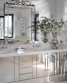 Ideas For Bathroom Walls by Spacious Small Bathroom Decorating With Mirrors