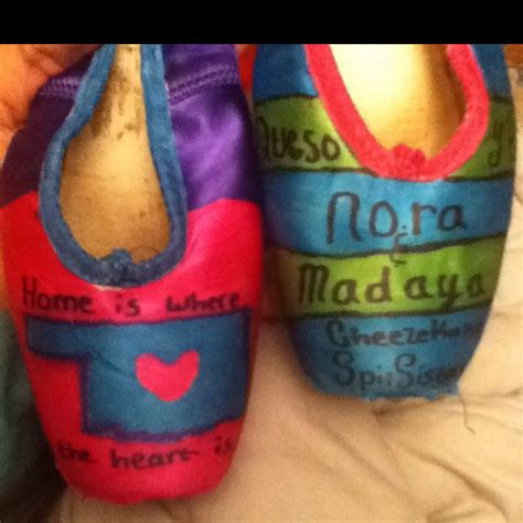 diy pointe shoes 51 best images about decorated pointe shoes on