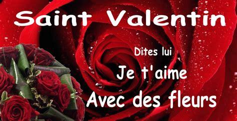 Fleur St Valentin fleurs valentin parlons fleurs avec b 233 a