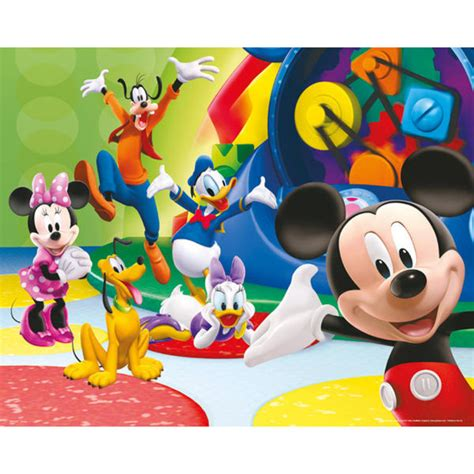 Mickey Mouse Uk 20 15 10 mickey mouse club house together mini poster 40 x 50cm
