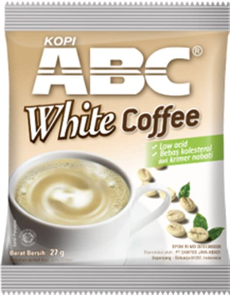 Abc White Coffee coffee product categories citra sukses international