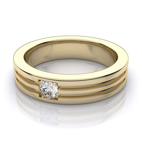 5 2mm s wedding ring in 18k yellow gold
