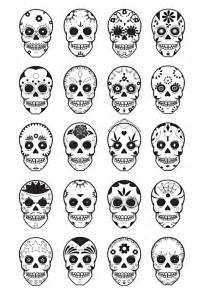 Printable Skull Template by Printable Skull Mask Sugar Skull Template Printable A