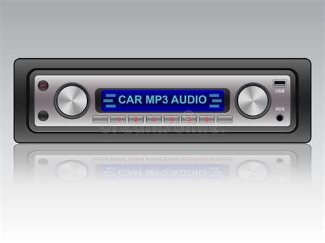 car audio system icon royalty free stock photos image