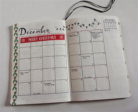 monthly layout bullet journal my december bullet journal monthly layout calendar view is