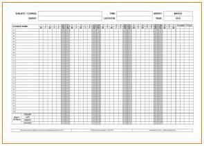 attendance sheet template attendance sheet excel template masir