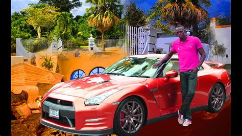 pictures of usain bolt house usain bolt s car collection and house youtube