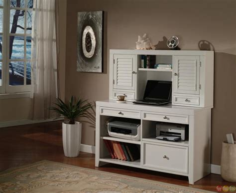 boca cottage white home office suite furniture set