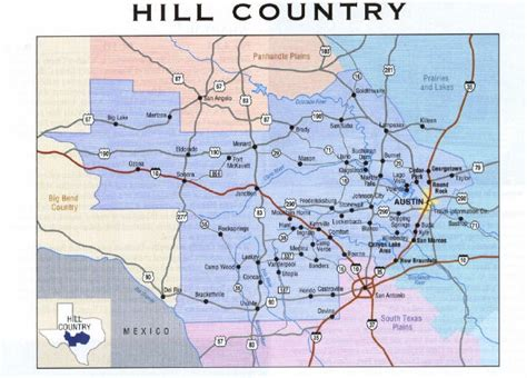 map of texas hill country area central texas hill country map pictures to pin on pinsdaddy