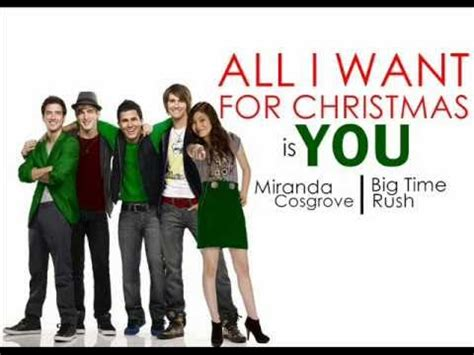 Link Time Fabsugar Want Need 66 by All I Want For Is You Big Time Ft Miranda