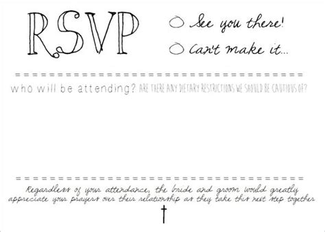 wedding rsvp card template download instantly editable text