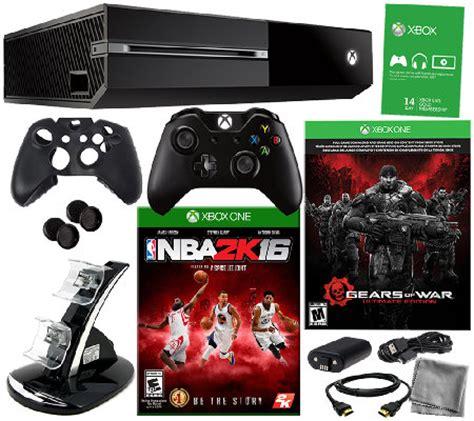 Xbox One 2k16 xbox one gears of war bundle w nba 2k16 and accessories