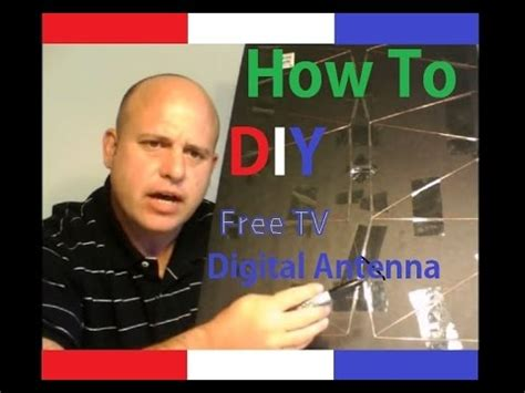 easy to build tv antenna free digital tv how to diy