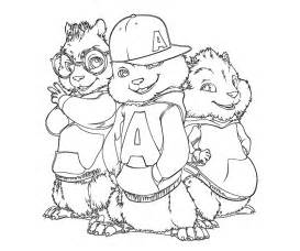 alvin and the chipmunks coloring pages free coloring pages of alvin and the chipmunks