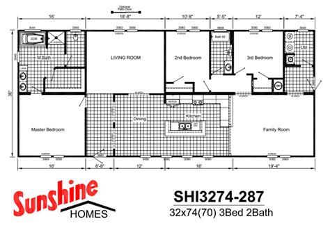 sunshine mobile home floor plans sunshine homes