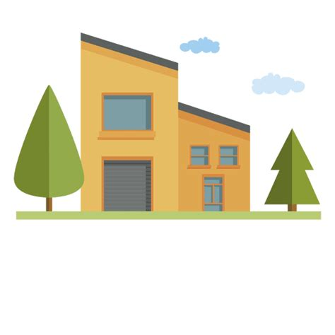 house building city transparent png svg vector