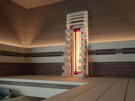 Sauna Einbau by Dunkle Sauna Sauna Mit Infrarot Finnische Sauna