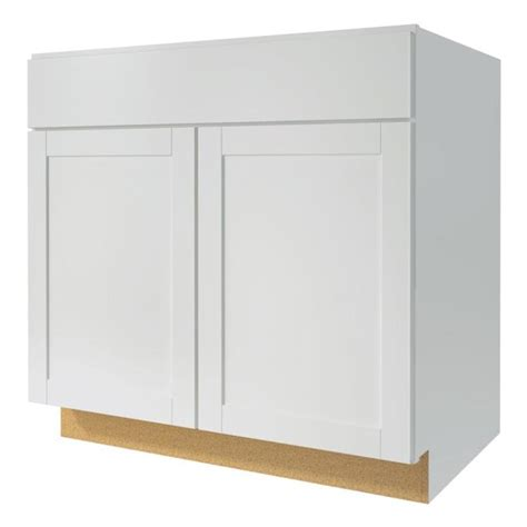 Lowes Kitchen Base Cabinets White Shop Now Arcadia 33 In W X 35 In H X 23 75 In D