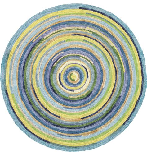 Miami Kitchen Design concentric sky round rug traditional entry boston