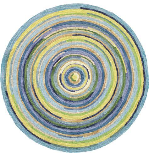 Where Do Interior Designers Shop concentric sky round rug traditional entry boston