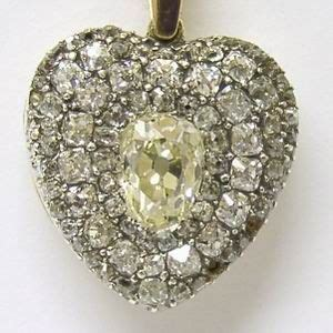 Antique diamond locket reminds me of my Brighton