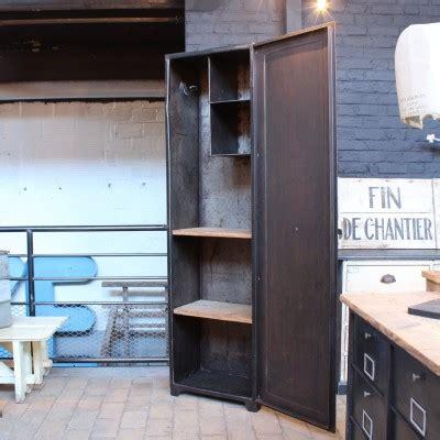 armoire métallique industrielle ma boutique meuble industriel antiquit 233 s et