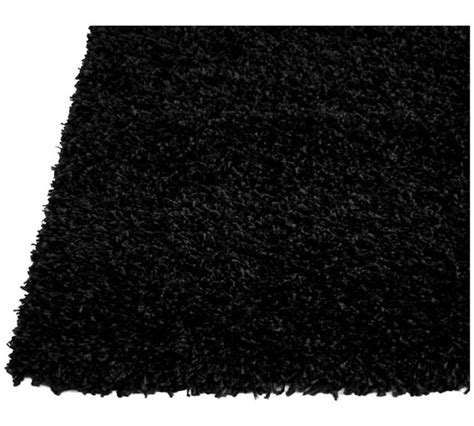 argos black rug buy jazz shaggy rug 160x230cm black at argos co uk your shop for rugs and mats