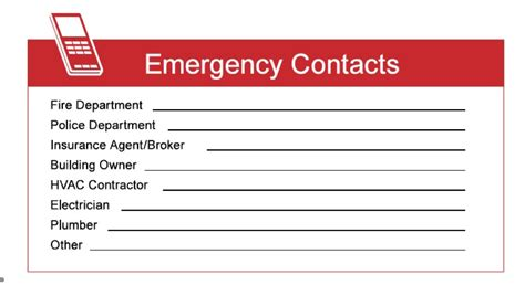 emergency contact business card template emergency contacts card cunningham insurance agency