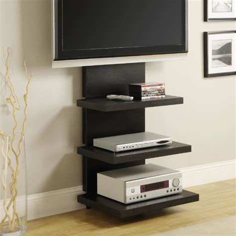 best modern floating media cabinets with back led lights floating media center stylish and space saving furniture