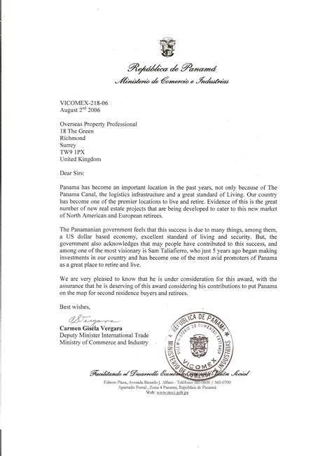 Recommendation Letter For To Minister Minister Recommendation Letter For Cover Letter Templates
