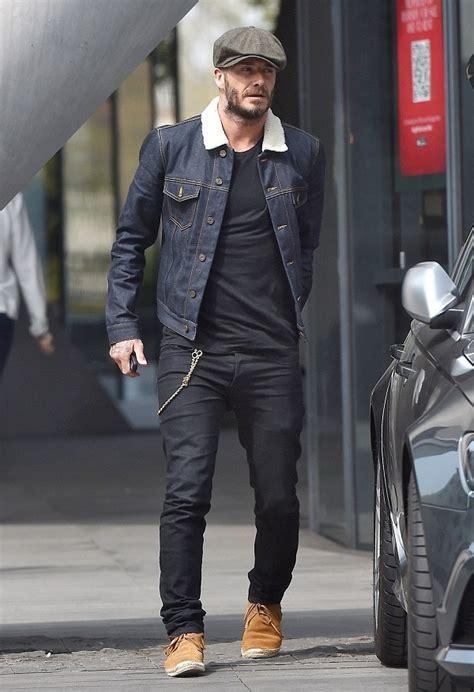 Beckham Talks Denim With by David Beckham Wearing Designer Archives Page 2 Of