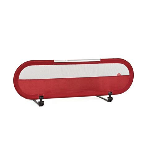 babyhome bed rail babyhome side bed rail with light maroon